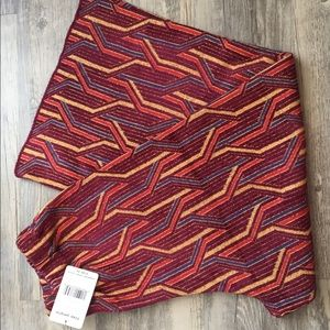 Free People Burgundy Pants Size M